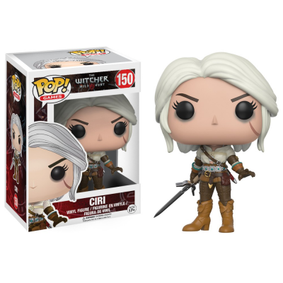 Фигурка Funko POP Witcher: Цири #150